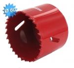 Scie cloche HSS bi-métal diamètre 60 mm