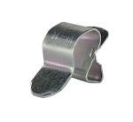 Clips bord de tôle pour cable ou gaine de 10 à 14 mm