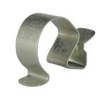 Clips bord de tôle pour cable ou gaine de 22 à 32 mm