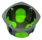 Boite cloison sèche 2 modules profondeur 50 mm Bizline R'Box