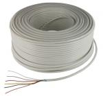 Cable Alarme Souple - 6 x 0,22 mm - Couronne de 100 mètres