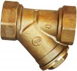 Filtre en Y - A tamis - Femelle 15 x 21 mm - Laiton - Sferaco 206004