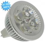 Lampe à LED Vision-EL GU5.3 4x1 Watts 6400K 12 Volts