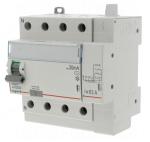 Interrupteur différentiel Legrand DX3 40A 30mA 4 Poles type AC - Vis / Auto