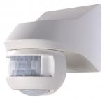 .Détecteur de mouvement avec détection à 150 et 360 degrès blanc