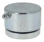 pivot bas - A souder - Pour portail à battants  - Daimètre 72 mm - 800 kg