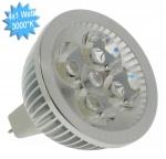 Lampe à LED Vision-EL GU5.3 4x1 Watts 3000K 12 Volts