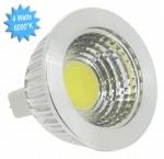Ampoule à LED COB - Vision-EL - GU5.3 - 4W - 6000K - 75D - Dimmable - Blister