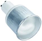 Ampoule fluo compacte GU10 10W 300lm 2700K D50 ballast intégré