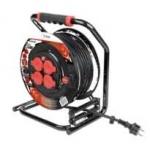 Enrouleur - 40 mètres - Cable 3G1.5 mm - Prise Fixe - Bizline