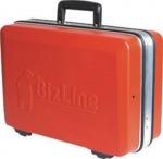 Valise verrouillable pour outils en ABS rouge