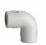 Coude équerre pour tube IRL 3321 - Diamètre 20 mm - Blanc - Schneider electric ENN42920