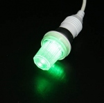 Lampe flash B22 verte 4 watts Festilight