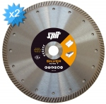 SPIT X-TREME SILVER Turbo - 2 Disques diamant diamètre 150 mm