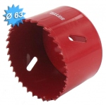 Scie cloche HSS bi-métal diamètre 63 mm