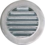 Grille ronde aluminium diamètre 155mm