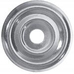 Rosace Plate - Diamètre 30 mm - Sachet de 20 pièces