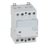 Contacteur Legrand CX3 63A 4 contacts NF bobine 230 Volts