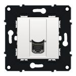 Prise RJ45 - FTP - Catégorie 6 - Arnould Espace Evolution - Blanc