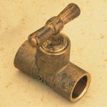 Té en laiton à souder - Purge - Droit - Diamètre 18 mm - Sachet de 2