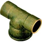 Té en laiton - 14 mm à souder vers 12 x 17 à visser - Sachet de 2