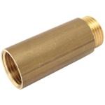 Allonge laiton - Filetage court - M / F - Diamètre 15 x 21 mm - Longueur 100 mm - Altech 1987ALT1