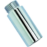 Allonge chromée - Filetage court - M / F - Diamètre 15 x 21 mm - Longueur 100 mm - Altech 2092ALT1