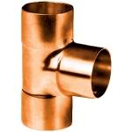 Té à souder en cuivre - Femelle / Femelle / Femelle - Diamètre 12 mm - Sachet de 10