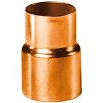 Réduction en cuivre à souder - Femelle 14 mm vers Femelle 12 mm - Sachet de 2