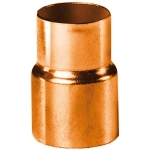 Réduction en cuivre à souder - Femelle 18 mm vers Femelle 14 mm - Sachet de 10