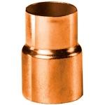 Réduction en cuivre à souder - Femelle 22 mm vers Femelle 18 mm - Sachet de 10