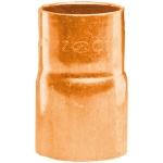 Réduction en cuivre à souder - Mâle 14 mm vers Femelle 12 mm - Sachet de 2