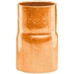 Réduction en cuivre à souder - Mâle 22 mm vers Femelle 18 mm - Sachet de 2