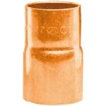 Réduction en cuivre à souder - Mâle 28 mm vers Femelle 22 mm - Sachet de 2