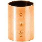 Manchon à souder en cuivre - Femelle / Femelle - Diamètre 12 mm - Sachet de 10
