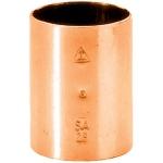 Manchon à souder en cuivre - Femelle / Femelle - Diamètre 28 mm - Sachet de 10