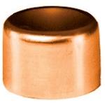 Bouchon à souder en cuivre - Femelle - Diamètre 12 mm - Sachet de 2
