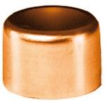 Bouchon à souder en cuivre - Femelle - Diamètre 16 mm - Sachet de 2