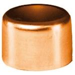 Bouchon à souder en cuivre - Femelle - Diamètre 22 mm - Sachet de 2