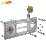 Plaque de fixation - Pour raccord à sertir entraxe 150 mm - Pour tube PER ROBIFIX 12 mm - Gripp. 008821