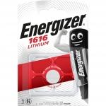 Pile lithium - Energizer CR1616 - 3 Volts - Blister de 1 pile