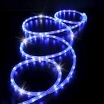 Cordon 44 mètres 30LED/m - Bleu pétillant blanc - 230 Volts - Festilight 173W44H-1