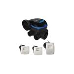 Kit VMC simple flux EasyHOME Hygroréglable COMBLES Classic - Aldes 11033031
