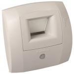 Bouche de ventilation - hygroréglable - BW31 CURVE S 5-45 / 30 - D 125 mm - Aldes 11015149