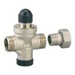 Réducteur de pression - Mâle / femelle - Diamètre 15 x 21 - 20 x 27 mm - Altech 2287216BS