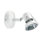Spot orientable saillie 230V halogène 50W GU10 Rubis 01 blanc