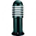 Borne lumineuse cylindrique basse 450mm Aric Caleo 1 noir
