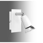 Spot saillie intérieur blanc halogène GU10 50W Ecco