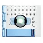 Bticino Sfera New - Façade - Caméra grand angle + 1 Bouton - Allwhite