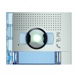 Bticino Sfera New - Façade - Caméra grand angle + 2 Boutons - Allmetal
